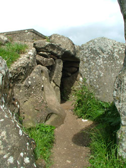 Entrance to the West Kennet Long Barrow