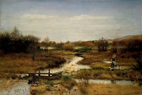 John Everett Millais, Lingering Autumn, 1890